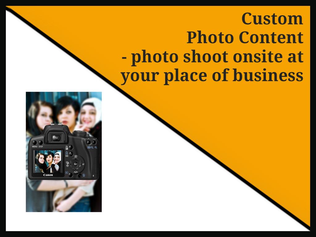 Custom Business Photos