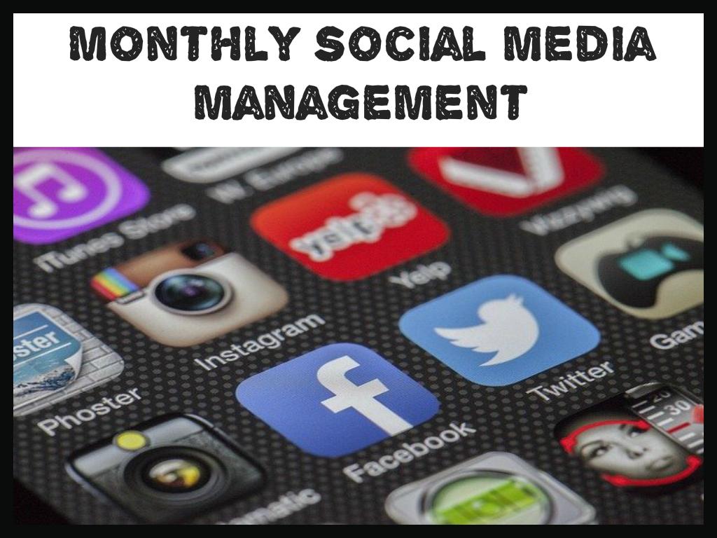 Monthly Social Media Management