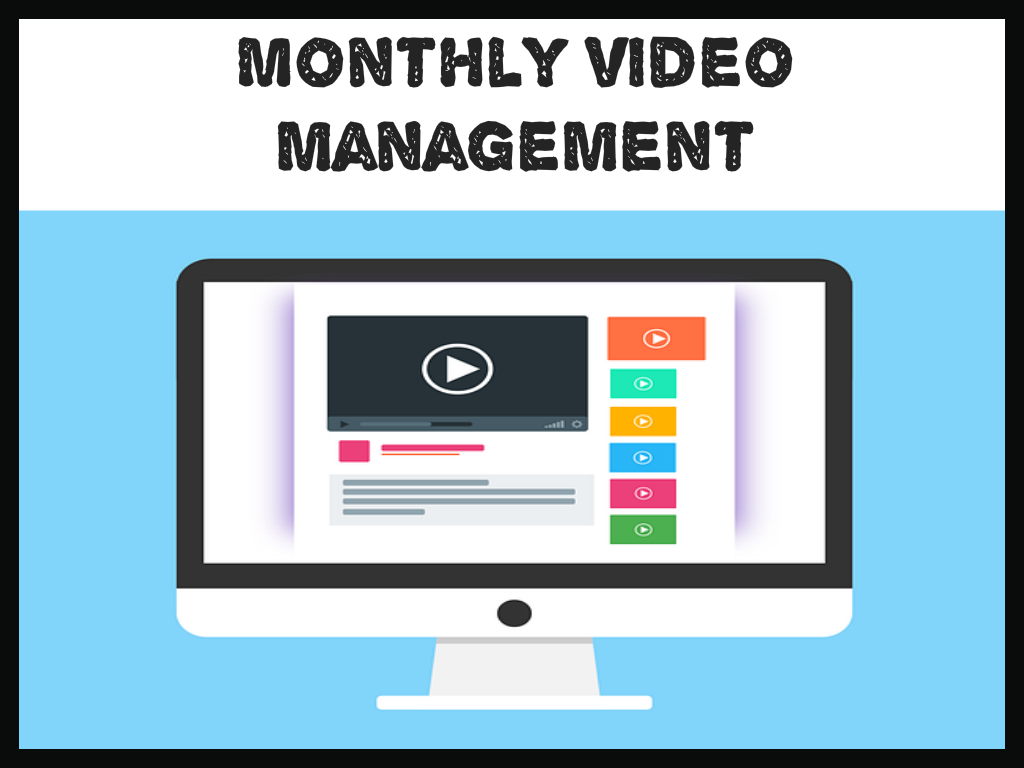 Monthly Video File Upkeep And Amendments