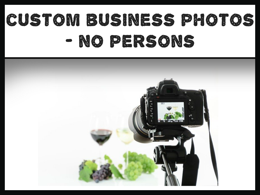 Custom Business Setting Photos With No Persons In The Frame