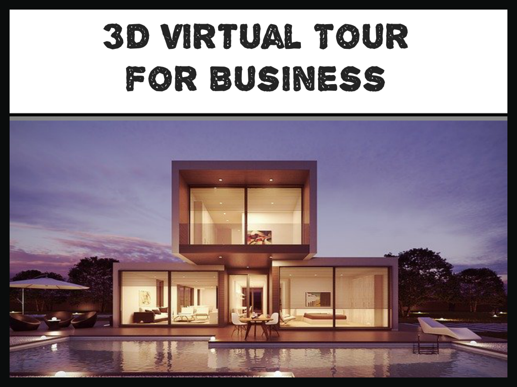 Fully Immersive Virtual Tours (in 3d)